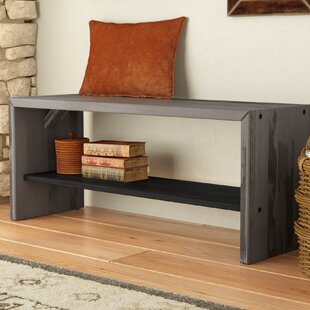 Arocho Solid Wood Bench by Loon Peak