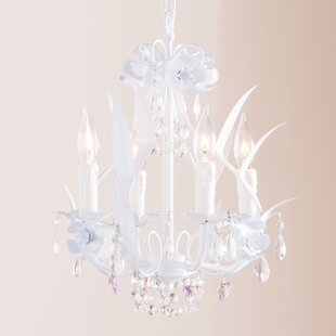 Teen girls chandelier wayfair tobias 4 light crystal hearts chandelier mozeypictures Image collections