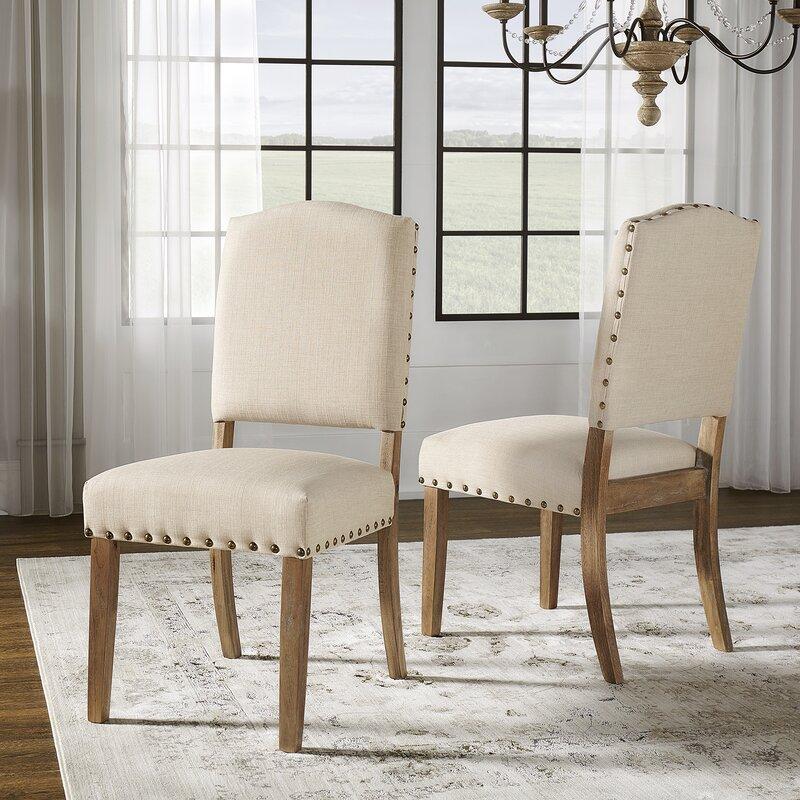 Pompon Nailhead Side Chair