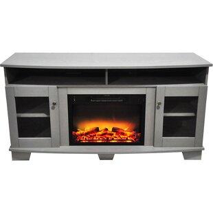 Red Barrel Studio Ackermanville Electric Fireplace