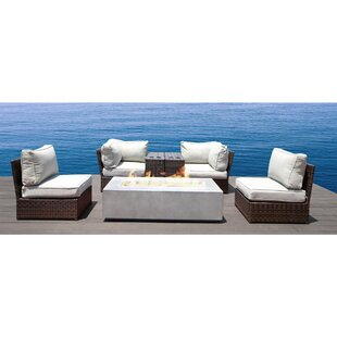 Vasil 7 Piece Sectional Set With Cushions by Orren Ellis #2