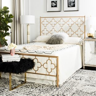 Mercer41 Kieran Lattice Platform Bed