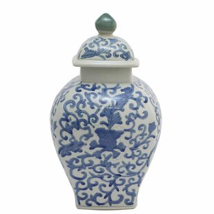 Mordecai Decorative Ceramic Urn