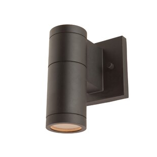 Orren Ellis Epsilon Contemporary 1-Light Outdoor Sconce
