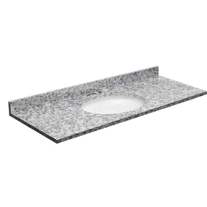 Granite Single Bathroom Vanity Top