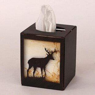 Looking for Gonzalez Deer Square Tissue Box Cover ByLoon Peak