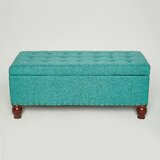 Aardhna 39.4'' Tufted Rectangle Storage Ottoman by Red Barrel Studio®