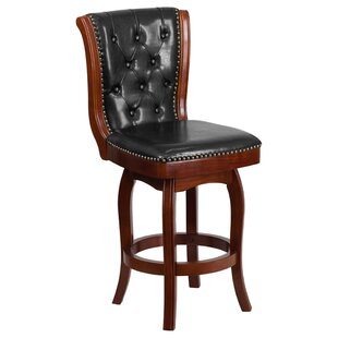 Glea Counter Height 26.75 Swivel Bar Stool
