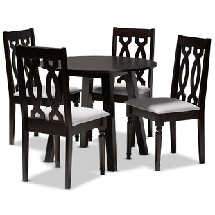 Sully 5  Piece Counter Height Dining Set