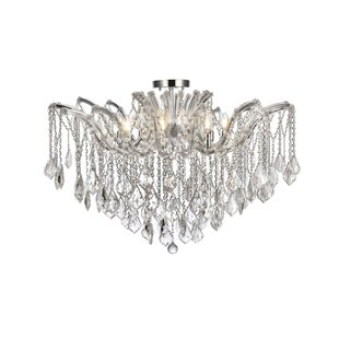 Regina 8-Light Semi Flush Mount by House of Hampton