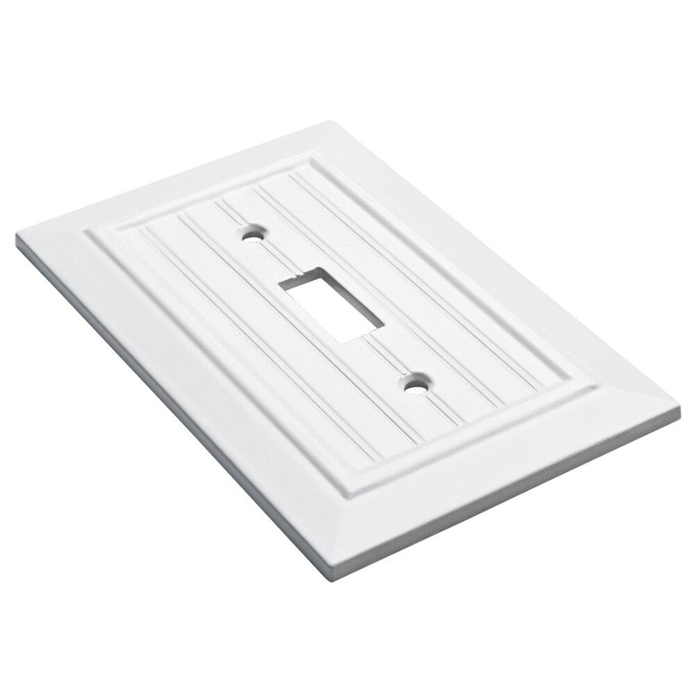 Franklin Brass Classic Beadboard 1 Gang Toggle Light Switch Wall Plate Reviews Wayfair