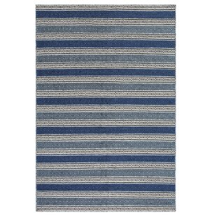 Patnos Hand-Tufted Blue/Grey Area Rug by Home Loft Concept