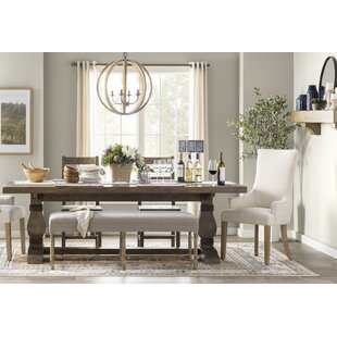 Gertrude Solid Wood Dining Table by Lark ..