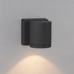 Cylinder 1-Light Outdoor Sconce