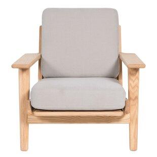 Joseph Allen Oak Plank Armchair
