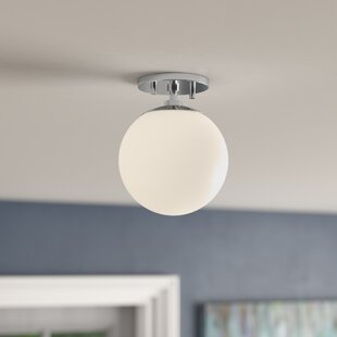 Samira 1-Light Semi Flush Mount by Langley Street