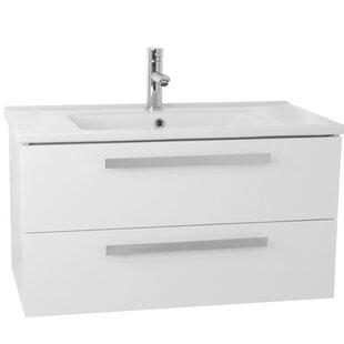 Dadila 33 Single Wall Mount Bathroom Vanity Set