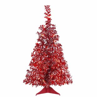 red christmas trees you ll love wayfair