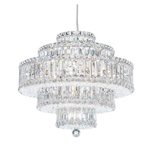 Plaza 22-Light Crystal Chandelier by Scho..