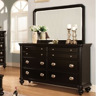 Order Garrick 8 Drawer Double Dresser with Mirror by Three Posts
