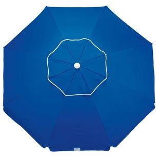 Aisha Deluxe Tiltable Beach Assorted 6.5' Market Umbrella by Breakwater Bay Cool