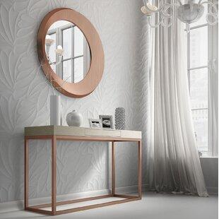 Brayden Studio Rashad Console Table and Mirror Set