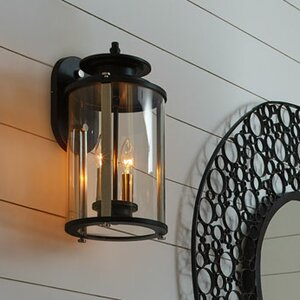 Evgenia 2-Light Outdoor Wall Lantern