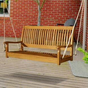 Craney 2 Person Hanging Porch Swing by Charlton Home