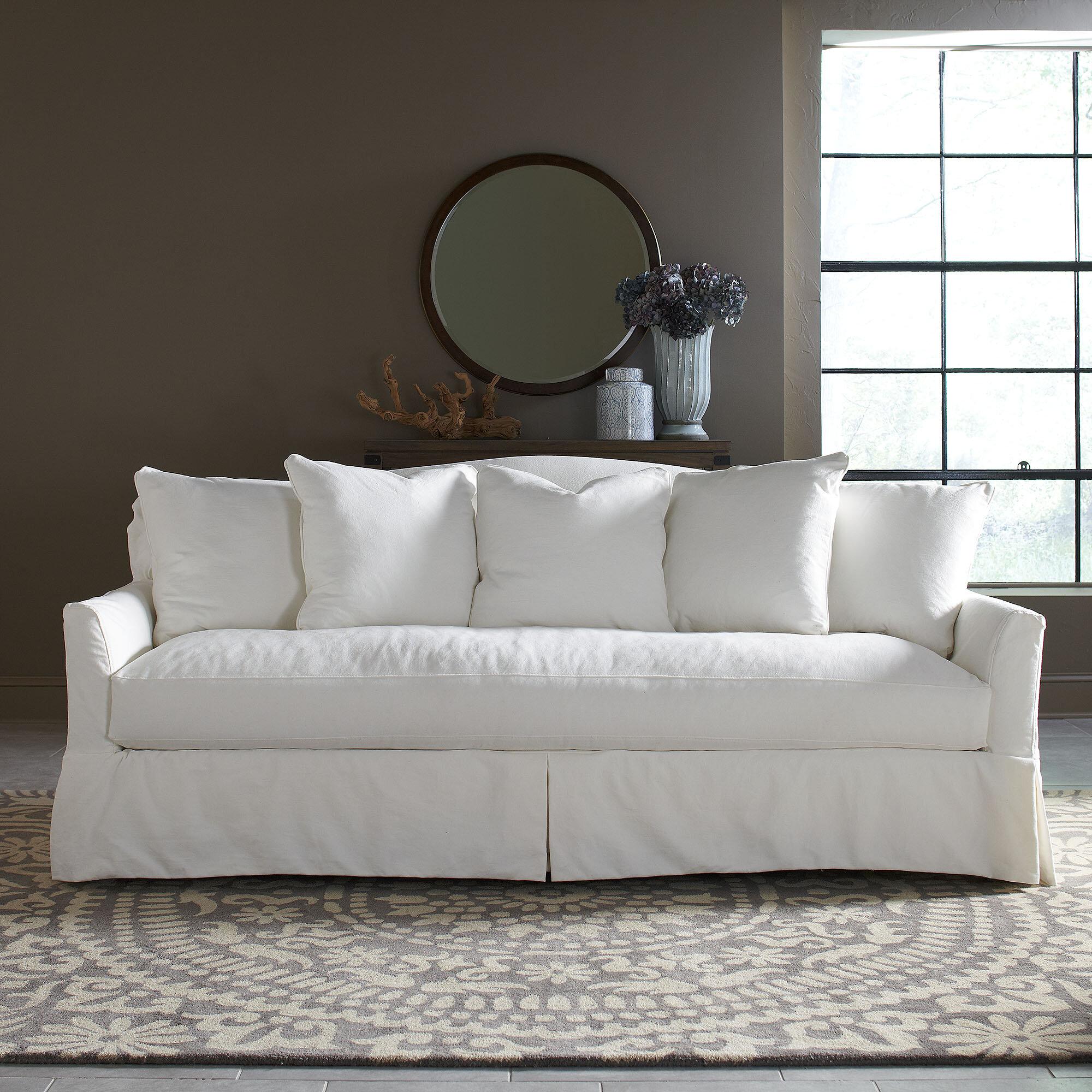 Birch Lane Heritage Fairchild Slipcovered Sofa Reviews Wayfair
