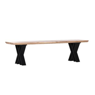 Rodrigues Solid Wood Bench By Williston Forge