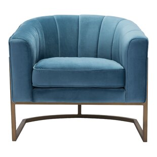 Everly Quinn Cranbrook Barrel Chair