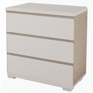 Shine In 3 Drawer Dresser By Roba