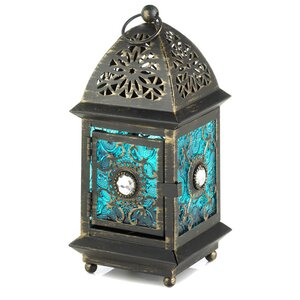 Iron and Glass Lantern