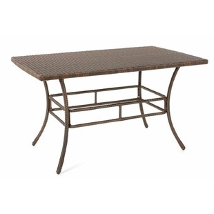 Rummel Wicker Dining Table
