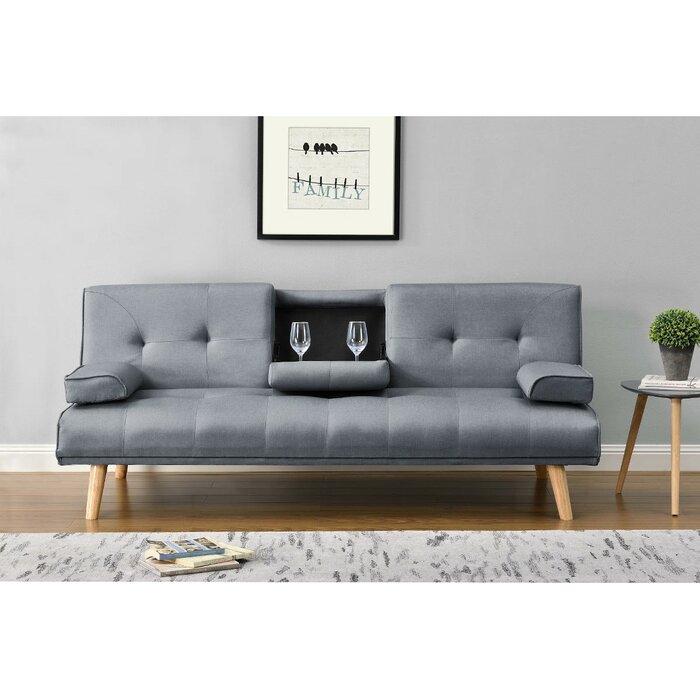 Terrific Dotson 3 Seater Sofa Bed Creativecarmelina Interior Chair Design Creativecarmelinacom