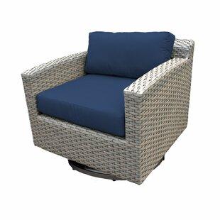 Meeks Patio Chair with Cushions