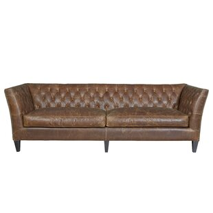 Didcot Leather Chesterfield Sofa