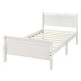 Keerie Twin Solid Wood Platform Bed by Red Barrel Studio®