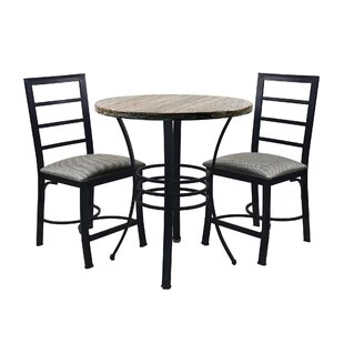 Casillas Bistro 3 Piece Dining Set (Set of 3)
