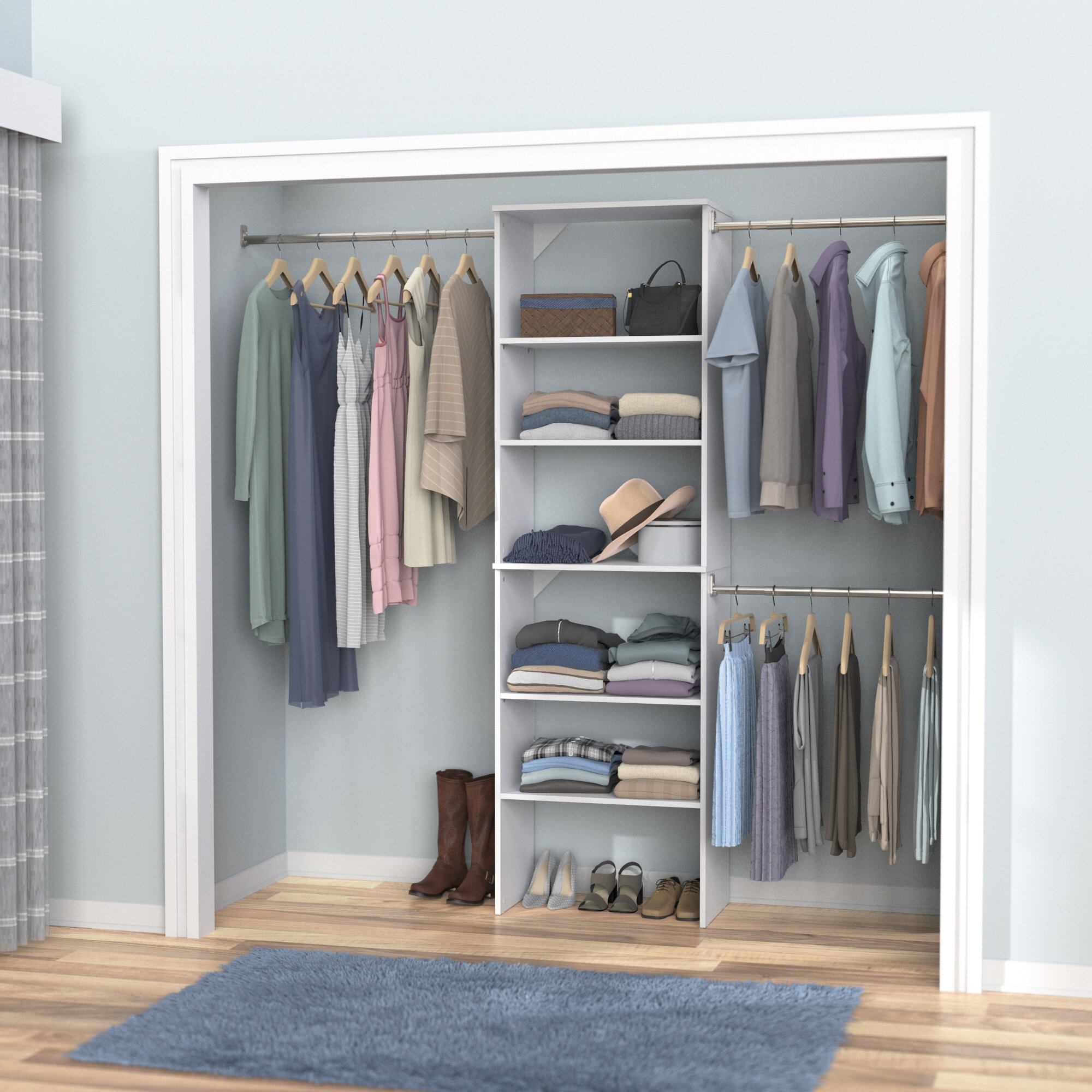 Closet Systems Organizers You Ll Love In 2021 Wayfair