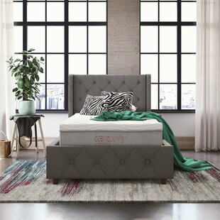 "CosmoLiving by Cosmopolitan Reign 10"" Medium Hybrid Mattress"