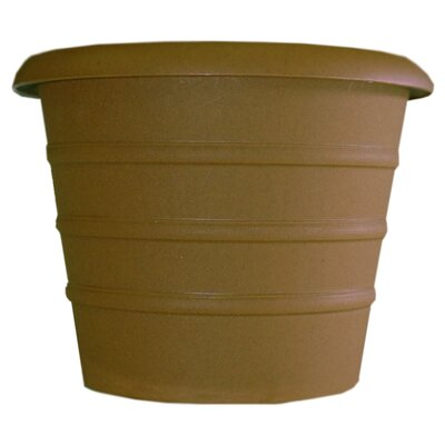 Marina Pot Planter (Set of 4) Myers/Akro Mills Color: Chocolate, Size: 17.25'' H x 20'' W x 20 D