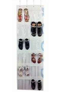 Inexpensive Bath 12 Pair Overdoor Shoe Organizer By Rebrilliant