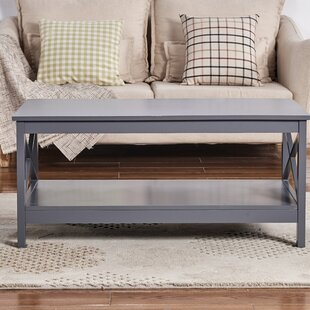 Buy clear Wilder Coffee Table by Beachcrest Home Reviews (2019) & Buyer's Guide