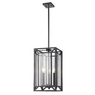 Silverstein 3-Light Foyer Pendant by Brayden Studio
