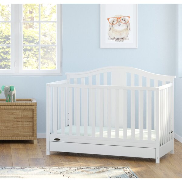Graco Solano 4 In 1 Convertible Crib With Drawer U0026 Reviews | Wayfair
