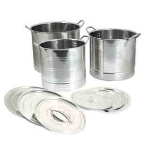 Stainless Steel Stockpot Set