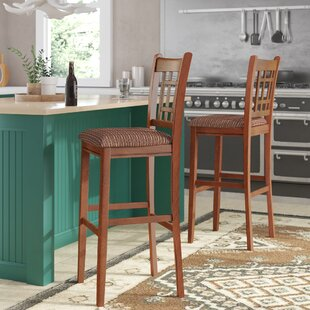 Quayle 30 Bar Stool (Set of 2) Loon Peak