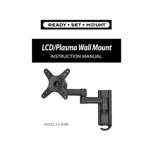 Extending Arm/Tilt/Swivel/Pan Wall Mount for 13