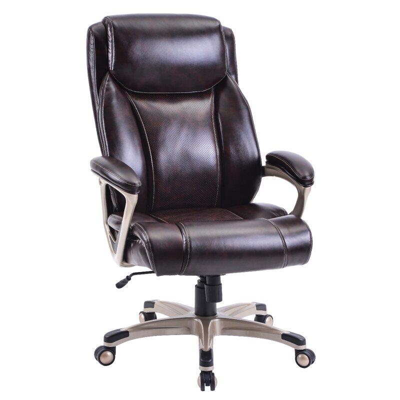 Latitude Run Axinia Homeoffice High Back Executive Chair Wayfair